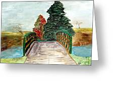 Natures Pathway Greeting Card