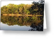 Natures Reflection Guatemala Greeting Card