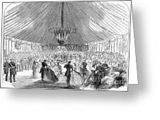 Naval Festival, 1865 Greeting Card