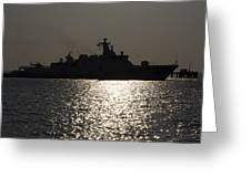 Naval Joint Operations V7 Greeting Card