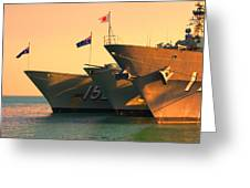 Naval Joint Ops V4 Greeting Card