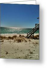 Navarre Beach Greeting Card