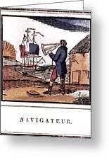 Navigator, 19th Century Greeting Card