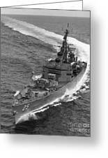 Navy: Uss Bainbridge, 1968 Greeting Card