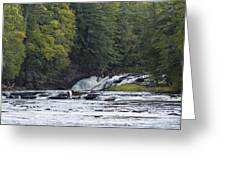 Nawadaha Falls 1 Greeting Card