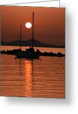 Naxos Island Greece Greeting Card