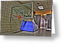 Nba Hoop Auburn Hills Mi Greeting Card
