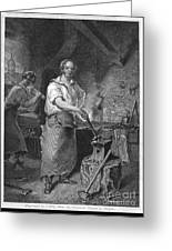 Neagle: Blacksmith, 1829 Greeting Card