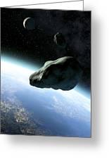 Near-earth Objects, Artwork Greeting Card by Take 27 Ltd