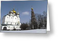 Near Moscow Greeting Card