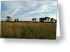 Nebraska Prairie One Greeting Card