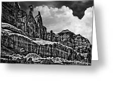 Nefertiti Arches National Park Greeting Card
