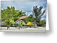 Negril Chances Greeting Card
