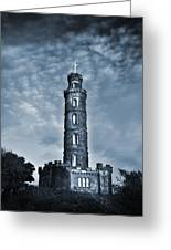 Nelson Monument Greeting Card