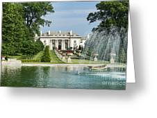 Nemours Mansion And Gardens Greeting Card