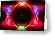 Neon Design Greeting Card