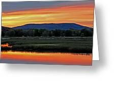 Nerepis Marsh At Dusk IIi Greeting Card