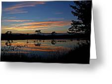 Nerepis Marsh Sunset Greeting Card