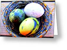 Nest Eggs Greeting Card