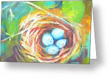 Nest Of Prosperity 1 Greeting Card
