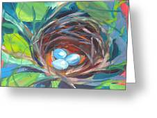 Nest Of Prosperity 2 Greeting Card