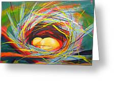 Nest Of Prosperity 7 Greeting Card