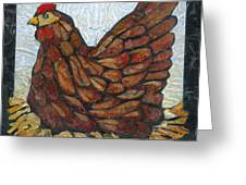 Nesting Hen Greeting Card