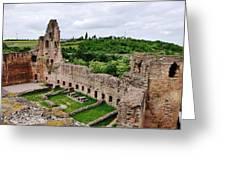 Neuleiningen Castle Greeting Card