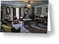 Nevada City Hotel Parlor - Montana Greeting Card