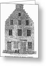 New Amsterdam: House, 1626 Greeting Card