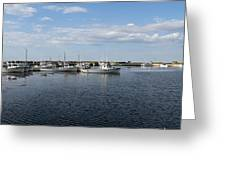 New Brunswick Harbour Greeting Card