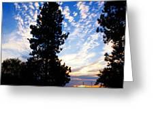 New Dawn Rising Greeting Card