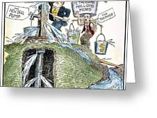 New Deal: Prime Pump Greeting Card
