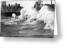 New England Hurricane, 1938 Greeting Card