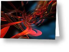 New Geometric Design Fx  Greeting Card