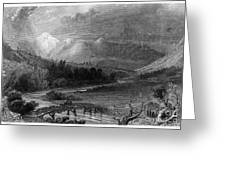 New Hampshire, 1838 Greeting Card