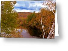 New Hampshire Fall Color Part Three Greeting Card