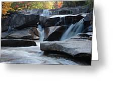 New Hampshire Waterfall 1 Greeting Card