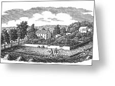 New Jersey Farm, C1810 Greeting Card