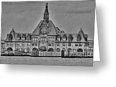 New Jersey Terminal Greeting Card