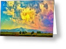 New Mexico Dawn Greeting Card