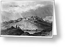 New Mexico: Laguna Pueblo Greeting Card