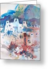 New Mexico Mission Greeting Card