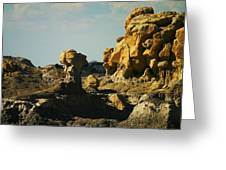 New Mexico Red Rock Greeting Card