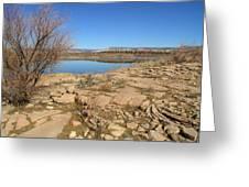 New Mexico Series - Abiquiu Lake IIi Greeting Card