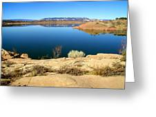 New Mexico Series - Abiquiu Lake Greeting Card