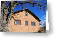 New Mexico Series - Adobe Building Greeting Card