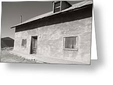 New Mexico Series - Adobe House In Truchas Greeting Card