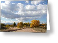 New Mexico Series - Autumn Clear Greeting Card