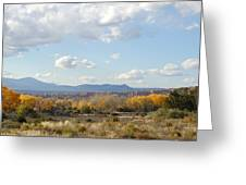 New Mexico Series - Autumn Landscape Greeting Card